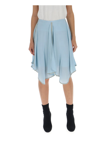 See By Chloé Asymmetric Hem Skirt
