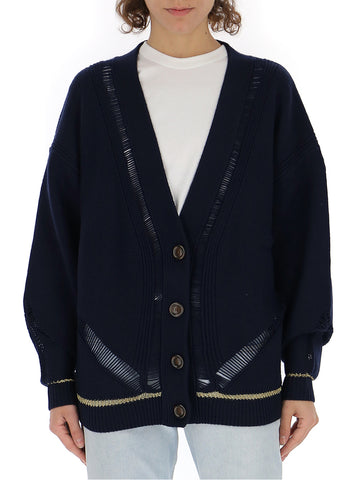 See By Chloé Metallic Detail Cardigan