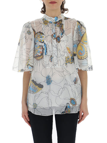 See By Chloé Sheer Detail Blouse