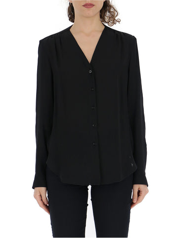 See by Chloé Button-Front Blouse