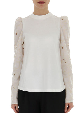 See By Chloé Puff-Sleeve Blouse