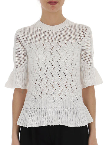 See By Chloé Textured Knit Top