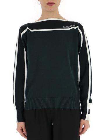 See By Chloé Contrast Panel Jumper