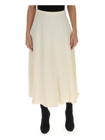 Theory Textured Cady Midi Skirt