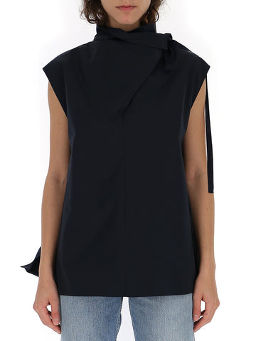 Theory Sleeveless Funnel Neck Top