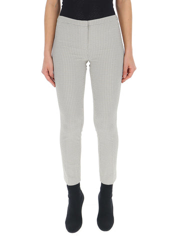 Theory Houndstooth Cigarette Trousers