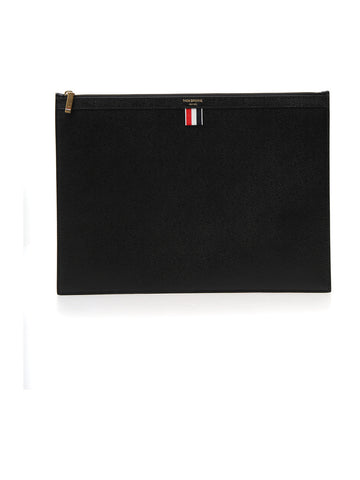 Thom Browne Leather Laptop Cover