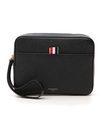Thom Browne Zipped Pouch Bag