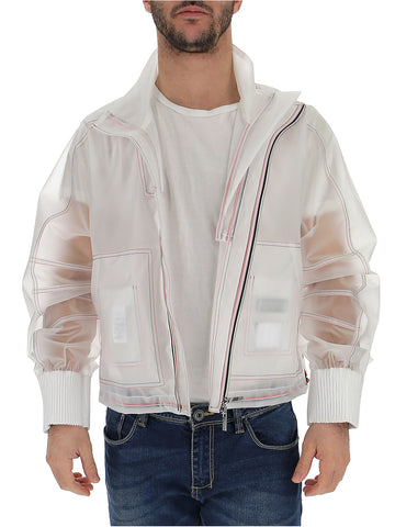 Thom Browne Clear Zipped Jacket