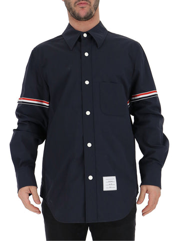 Thom Browne Striped Shirt Jacket