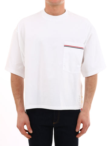 Thom Browne Pocket Striped T-Shirt