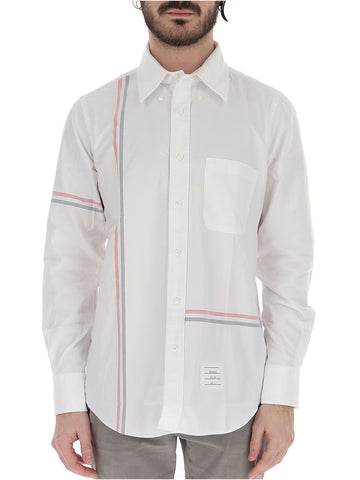Thom Browne Striped Oxford Shirt