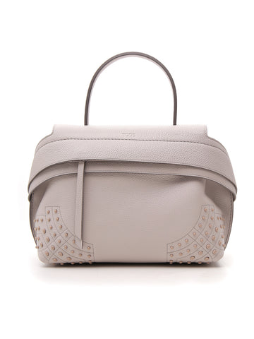 Tod's Wave Studded Tote Bag