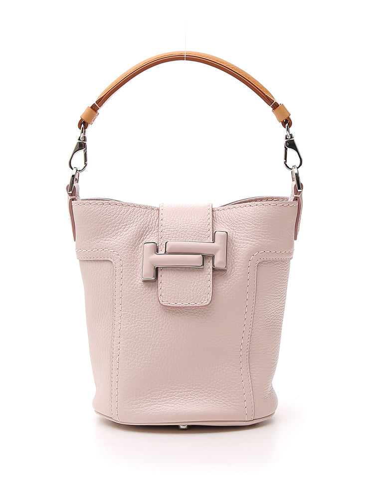 eb4aed1ac6 Tod's Double T Top Handle Bucket Bag – Cettire