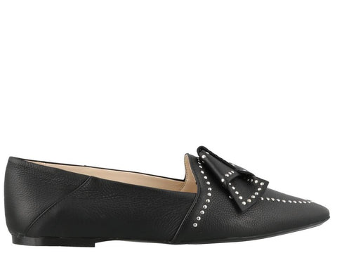 Tod's Studded Bow Loafers