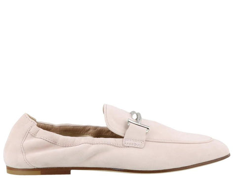 Tod's Double T Suede Loafers