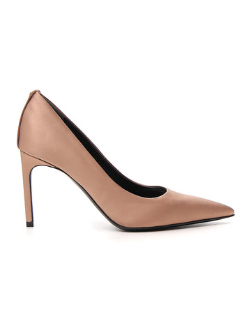 Tom Ford T Screw Satin Pumps