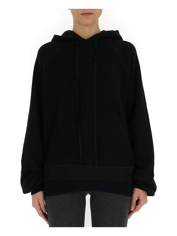 Unravel Project Cut-Out Detail Hoodie