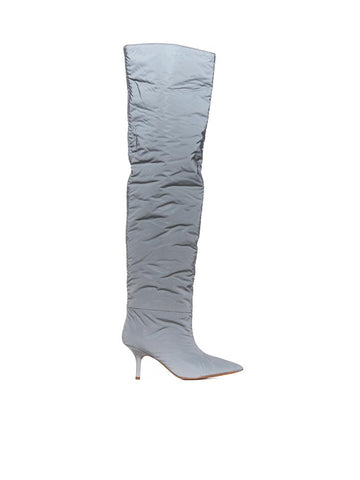 Yeezy Reflective Knee-High Boots