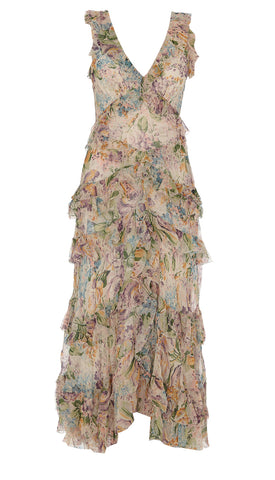 Zimmermann Ninety-Six Flutter Dress