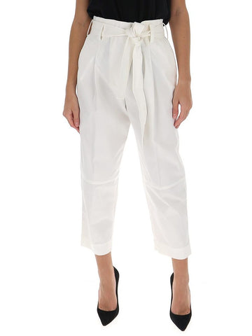 3.1 Phillip Lim Cropped Belted Trousers