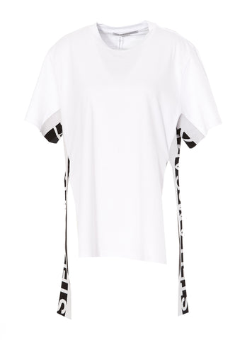 Stella McCartney Logo Panelled T-Shirt