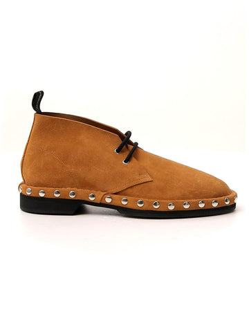 Alexander McQueen Studded Lace-Up Shoes