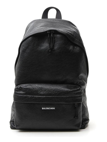 Balenciaga Arena Leather Zipped Backpack