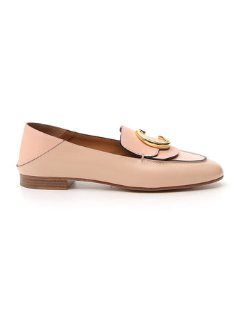Chloé C Buckle Loafers