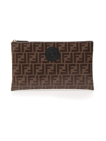 Fendi FFreedom Large Clutch Bag