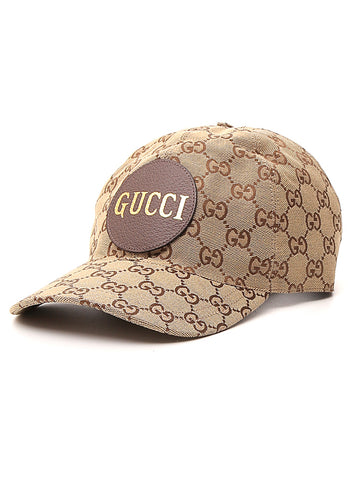 Gucci Canvas Logo Baseball Hat