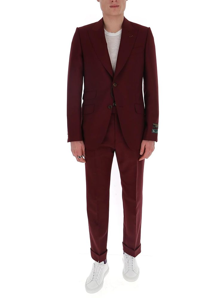 Gucci Fitted Two Piece Suit
