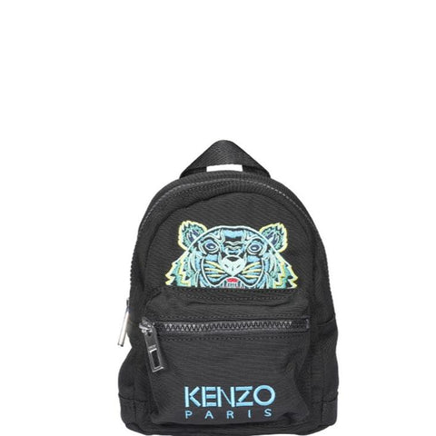 Kenzo Tiger Mini Logo Embroidered Backpack