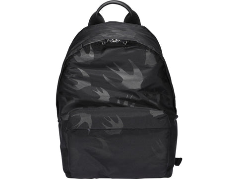 McQ Alexander McQueen Swallow Printed Backpack