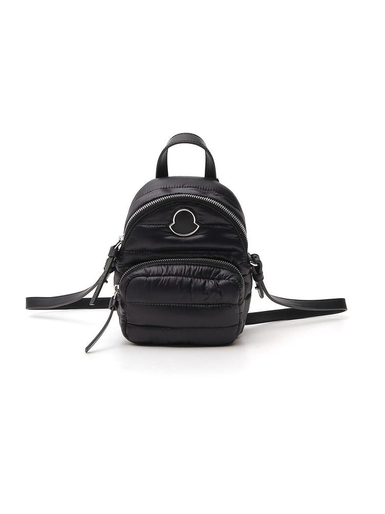 Moncler Logo Patch Quilted Backpack