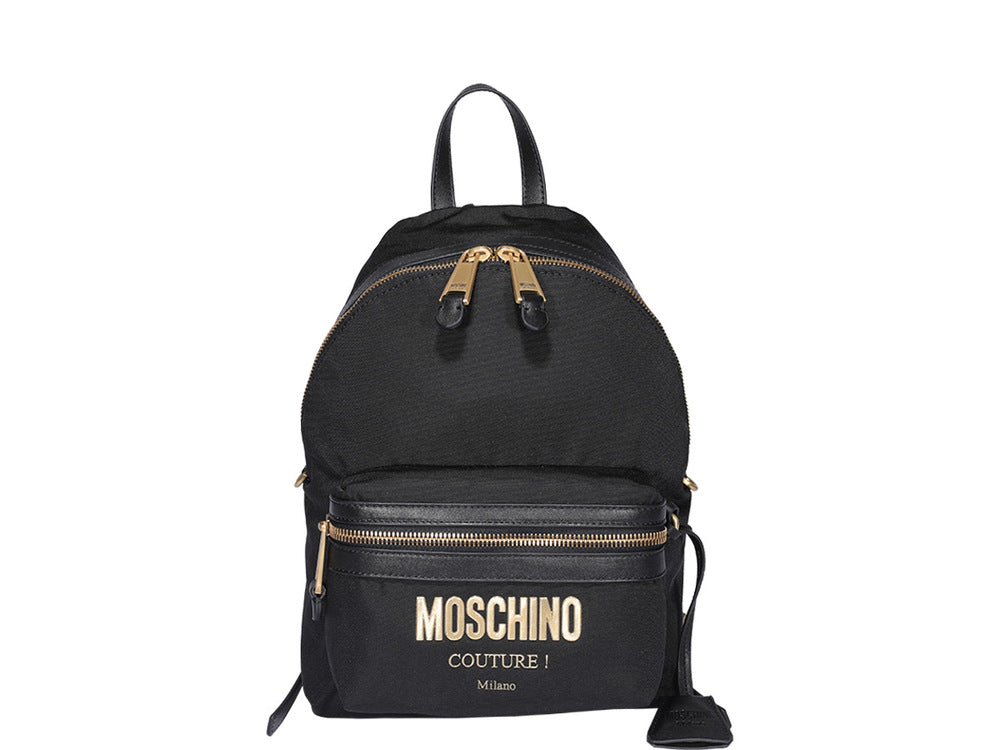Moschino Couture Plaque Backpack