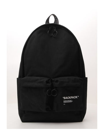Off-White Logo Printed Backpack