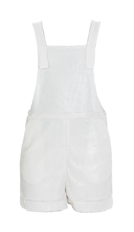 P.A.R.O.S.H. Sleeveless Glittered Playsuit