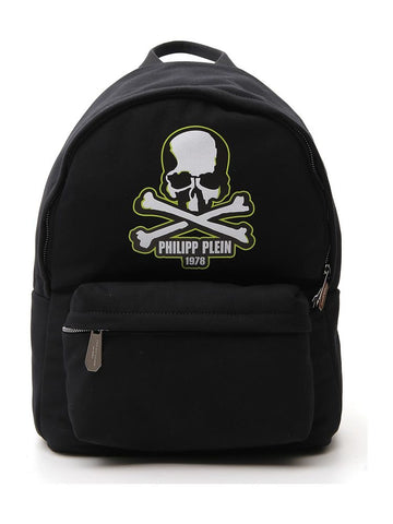 Philipp Plein Logo Patch Backpack