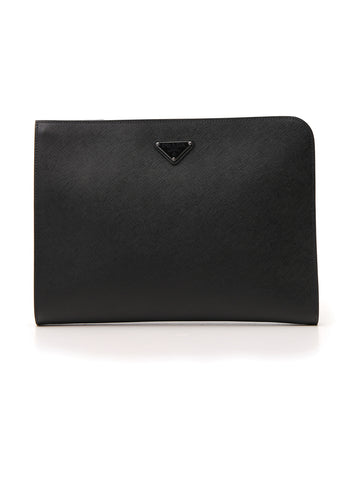 Prada Logo Document Holder