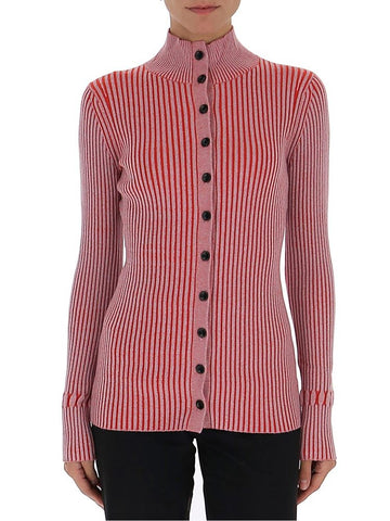 Proenza Schouler Ribbed Button-Up Cardigan