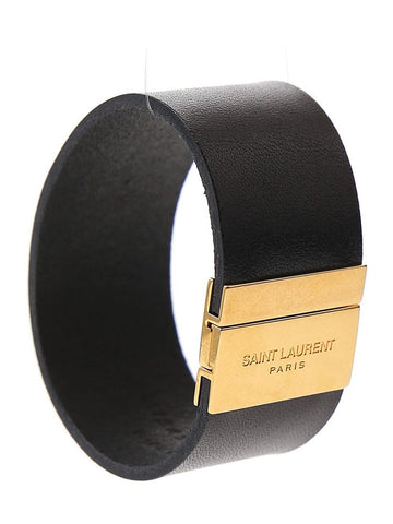 Saint Laurent Logo Cuff
