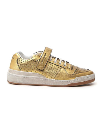 Saint Laurent SL24 Metallic Sneakers