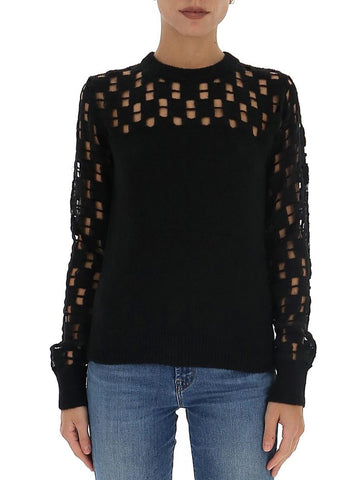 See By Chloé Cut-Out Detail Sweater