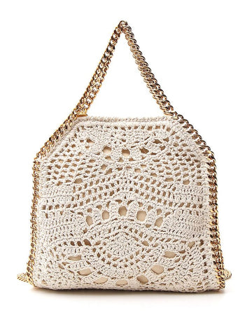 Stella McCartney Falabella Crochet Tote Bag