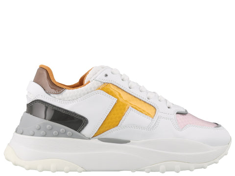 Tod's Colour Block Panelled Sneakers