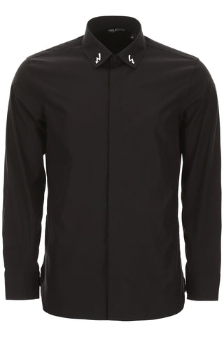 Neil Barrett Lightning Embroidered Shirt