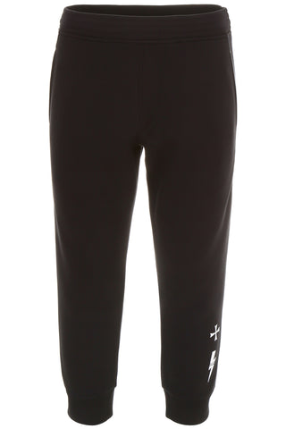 Neil Barrett Contrast Trim Bonded Pants