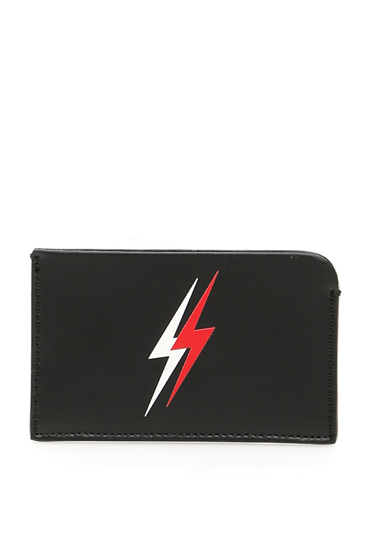 Neil Barrett Accessories NEIL BARRETT THUNDERBOLT PRINT CARDHOLDER