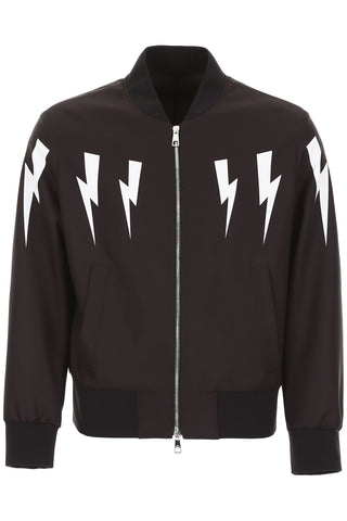 Neil Barrett Thunder Bolt Bomber Jacket